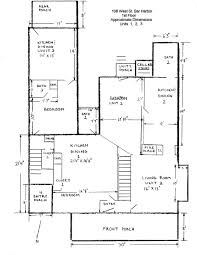 Bar Floor Plans by Bar Harbor 6 Unit Apartment Building For Sale Floor Plans Bar Harbor