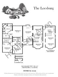 3 Bedroom 2 1 2 Bath Floor Plans Arcon Group Inc Specializes In Modular Construction