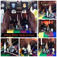 harry potter themed trunk or treat harry potter always