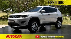 jeep india compass jeep compass video