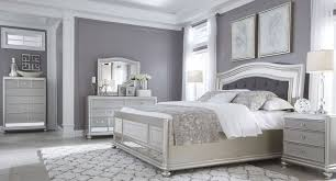 gray bedroom sets coralayne silver bedroom set pinteres