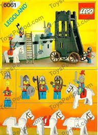 siege lego lego 6061 siege tower set parts inventory and lego