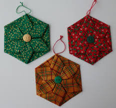 folded fabric ornament lizardmedia co