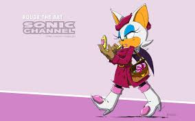 rouge the bat february 2015 sonic channel wallpaper