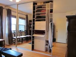 Mirrors For Closet Doors by Mirrored Sliding Closet Doors Our Own Diy Mirrored Barn Closet