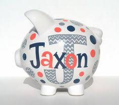 monogrammed piggy bank personalized piggy bank personalized piggy bank piggy banks and