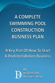 smashwords u2013 a complete swimming pool construction business plan