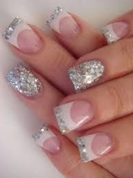 best 25 white tip nail designs ideas on pinterest white glitter