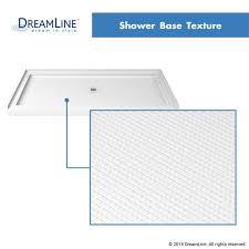 44 Shower Door by Dreamline Dl 6628c 08cl Enigma Z Shower Door And Slimline Shower