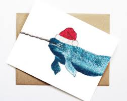 cute christmas card etsy