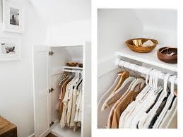 a seasonally organized closet u0026 added closet space to the master