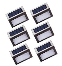 solar led deck step lights outdoor solar led stair lights stainless steel led deck step lights