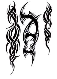 tribal tattoo designing printable tattoo drawings