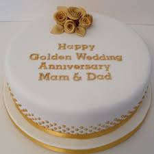 50th wedding anniversary cake topper gold 50th wedding anniversary cake topper melitafiore