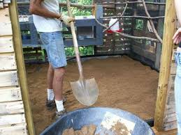 Chickens In The Backyard by Using Sand In Your Chicken Coop Backyard Chickens
