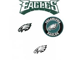 eagles logo machine embroidery design for instant