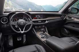 survival truck interior 2018 alfa romeo stelvio q4 first drive review