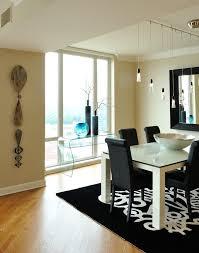 black and cream dining room glamorous dining room design ideas