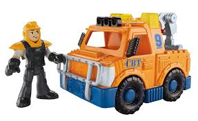 amazon com fisher price imaginext city tow truck toys u0026 games