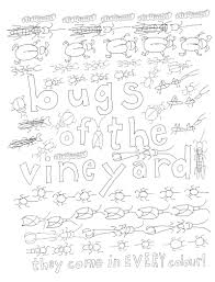color this wine themed coloring book vinepair