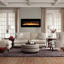 Electric Wall Fireplace Regal Rigel 50 Inch Black Ventless Heater Electric Wall