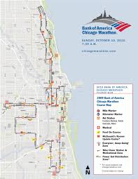 Boston Marathon Route Map by This Weekend Marks The 2010 Edition Of The Chicago Marathon The