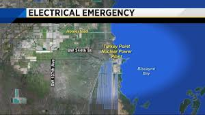 Homestead Florida Map by Firefighters Respond To Electrical Fire At Turkey Point