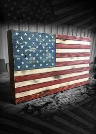 rustic american flag flag wood american flag flag