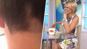 dylan dreyer gave her husband a haircut and u2026 oops today com