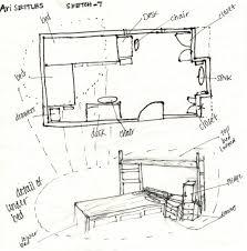 frank lloyd wright plans floor plan rendering drawing hand napkin idolza farnsworth house