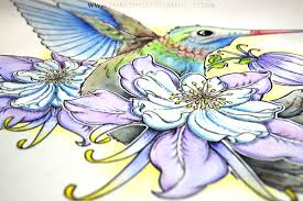 beautiful hummingbird tattoo download dark design graphics