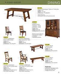 Sunny Design Furniture Prices U2022 Sunny Designs Tuscany Dining Furniture U2022 Al U0027s Woodcraft