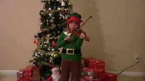 kindergartner playing christmas songs on the violin youtube