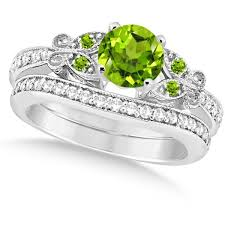 Gold Diamond Wedding Rings by 55 Best Peridot Engagement Rings Images On Pinterest Peridot