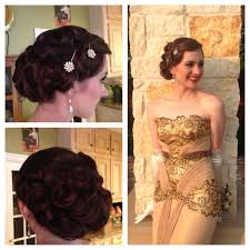 old hollywood great gatsby updo for prom gatsby what gatsby