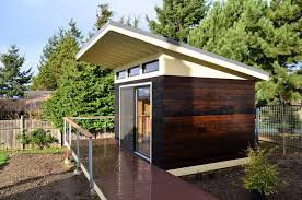 extending roof overhang shed modern with rafters modern home