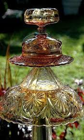 glass garden ornament yard ornaments glass garden and garden
