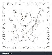 cute teddy bear coloring pages cute teddy bear coloring page