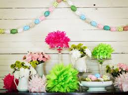 church decorations for easter diningroom how to make a painted easter egg garland hgtv