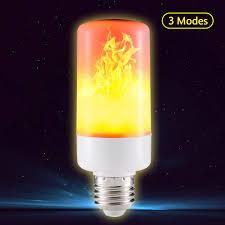 led flame effect fire light bulbs e27 e14 smd led flame effect fire light bulbs flickering emulation