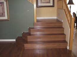 Installing Hardwood Flooring On Stairs Attractive How To Install Laminate Flooring On Stairs Ideas