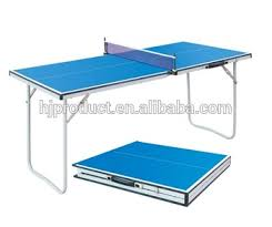 portable table tennis table portable and suitcase style of pingpong table table tennis table