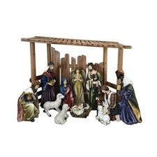 Christmas Decorations Nativity Outdoor by Outdoor Nativity Sets You U0027ll Love