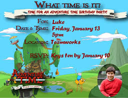 adventure time with finn and jake and luke birthday