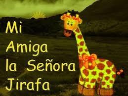 imagenes de amistad jirafas mi amiga la señora jirafa poesias para niños youtube