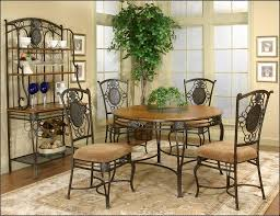 Wrought Iron Kitchen Tables by Kitchen Wood Dining Table Set Wrought Iron Outdoor Furniture