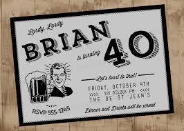 retro 40th birthday invitations alanarasbach com