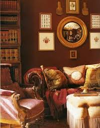 classical interiors with marsala 2015 color of the year
