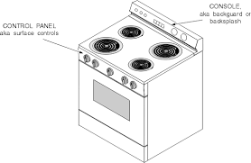 oven stove range and cooktop parts and controls chapter 3