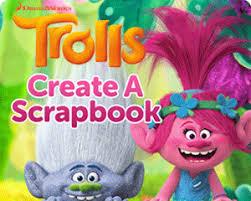 dreamworks create troll scrapbook create u0026 print